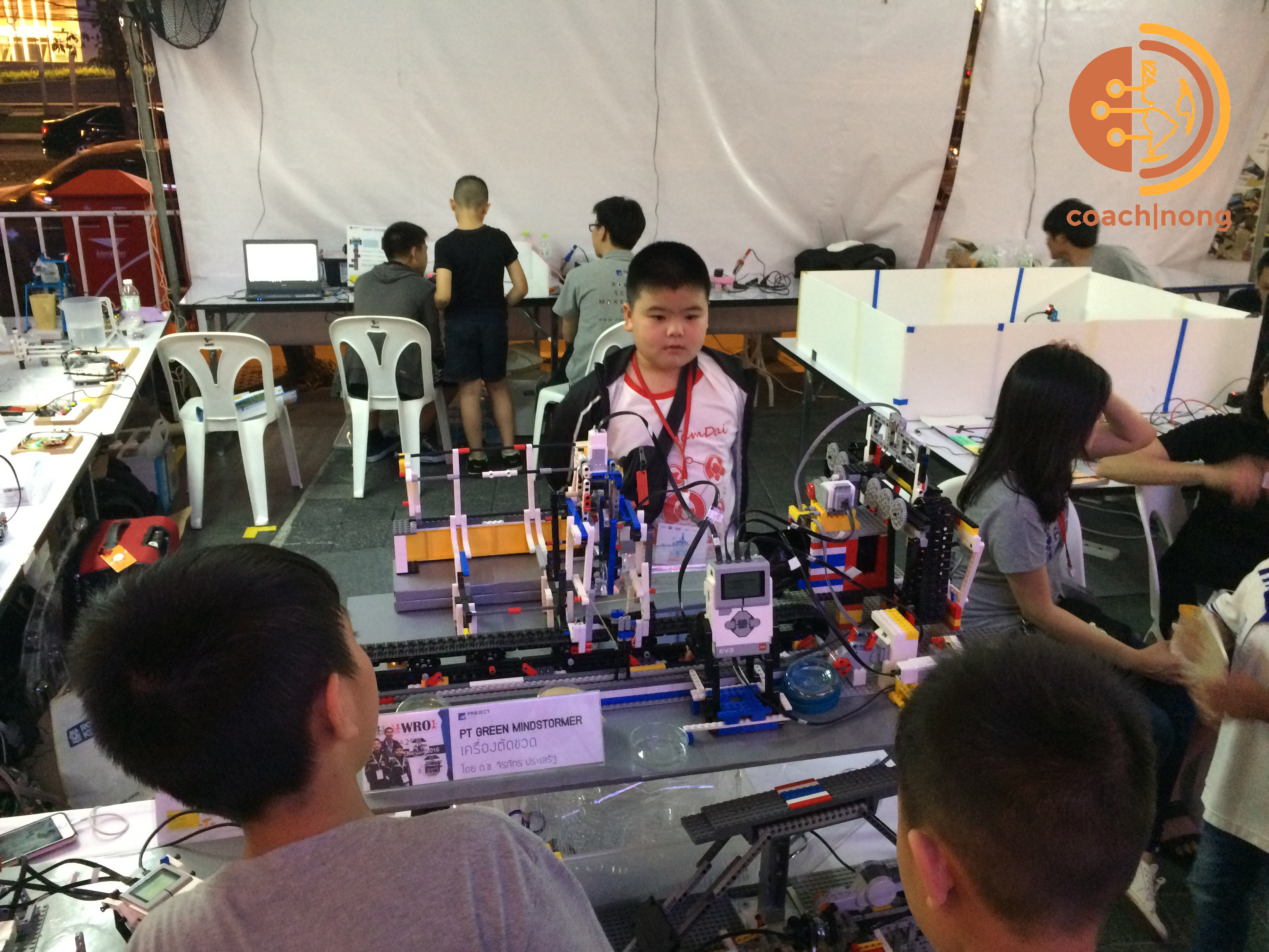 LEGO ในงาน Bangkok Mini Maker Faire 2017